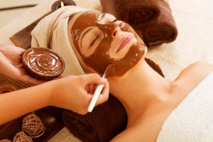 facial chocolate
